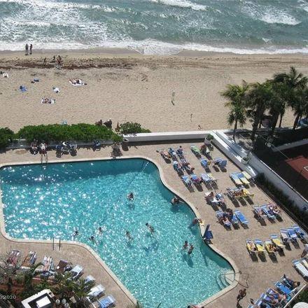 Rent this 2 bed condo on Ocean Manor Resort Hotel in 4040 Galt Ocean Drive, Fort Lauderdale
