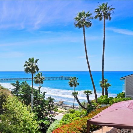 Rent this 3 bed condo on 253 West Marquita in San Clemente, CA 92672