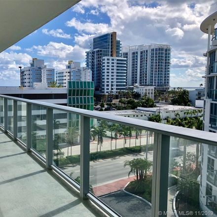 Rent this 2 bed condo on 6620 Indian Creek Drive in Miami Beach, FL 33141