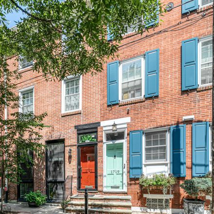 Rent this 3 bed townhouse on 1721 Addison Street in Philadelphia, PA 19146