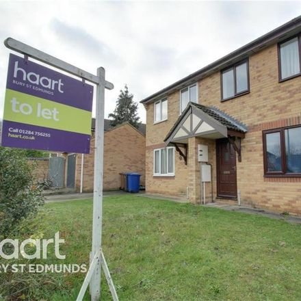 Rent this 3 bed house on Rowan Drive in West Suffolk IP32 7HL, United Kingdom