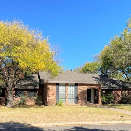 Rent this 3 bed apartment on 3226 Oak Mountain Trail in San Angelo, TX 76904