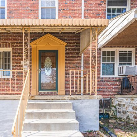Rent this 4 bed townhouse on 3912 Yolando Road in Baltimore, MD 21218