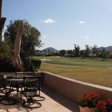 Rent this 2 bed apartment on 7400 East Gainey Club Drive in Scottsdale, AZ 85258