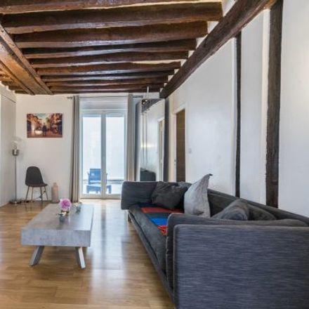 Rent this 2 bed apartment on 13 A Rue du Plâtre in 75004 Paris, France