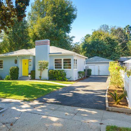 Rent this 2 bed house on 1191 North El Molino Avenue in Pasadena, CA 91104