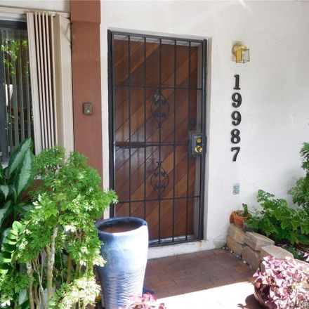 Rent this 2 bed condo on 19987 Northeast 6th Court in Miami-Dade County, FL 33179