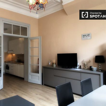 Rent this 1 bed apartment on Rue Jean d'Ardenne - Jean d'Ardennestraat 37 in 1000 Ixelles - Elsene, Belgium