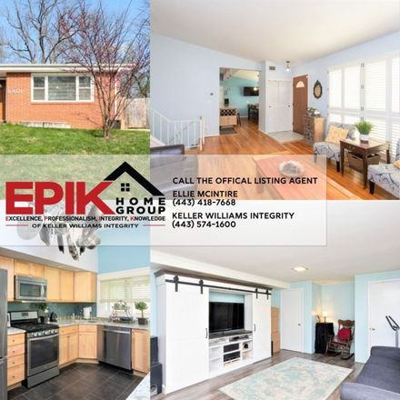 Rent this 3 bed house on 6801 Darwood Drive in Pikesville, MD 21209