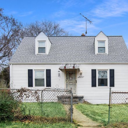 Rent this 4 bed house on 4111 54th Place in Bladensburg, MD 20710