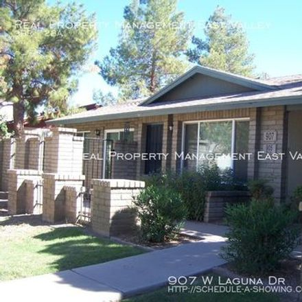 Rent this 3 bed apartment on 923 West Laguna Drive in Tempe, AZ 85282