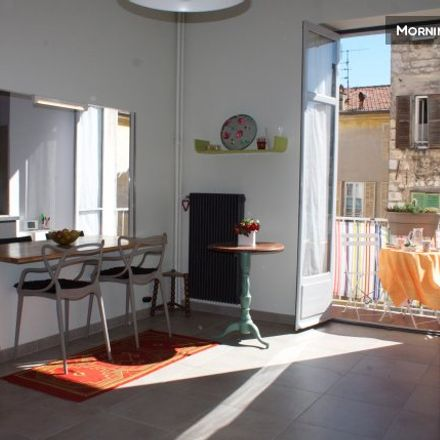 Rent this 1 bed apartment on 64 Avenue Jean Médecin in 06000 Nice, France