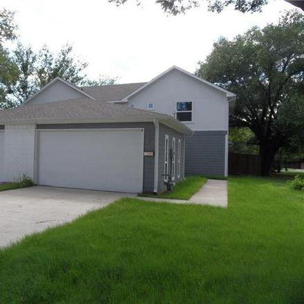 Rent this 3 bed duplex on 621 Knight Lane in Irving, TX 75060