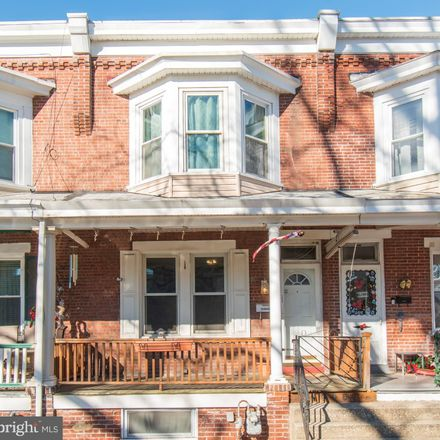 Rent this 3 bed townhouse on 1445 Willow Street in Norristown, PA 19401