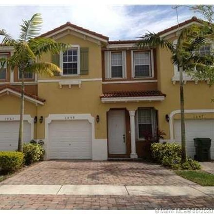Rent this 3 bed townhouse on 1059 Northeast 30th Avenue in Homestead, FL 33033