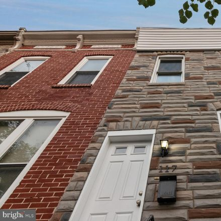 Rent this 3 bed townhouse on 117 North Clinton Street in Baltimore, MD 21224