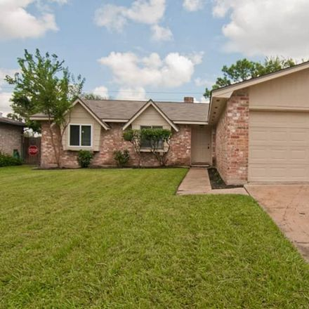 Rent this 3 bed house on 13780 Towneway Drive in Town West, TX 77498