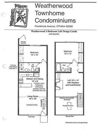 Rent this 2 bed apartment on 437 Ponderosa Avenue in O'Fallon, IL 62269