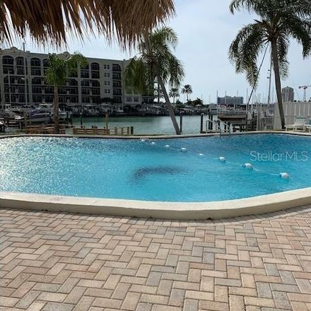 Rent this 1 bed condo on 255 Dolphin Point in Clearwater, FL 33767