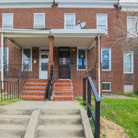 Rent this 4 bed townhouse on 3334 Ravenwood Avenue in Baltimore, MD 21213