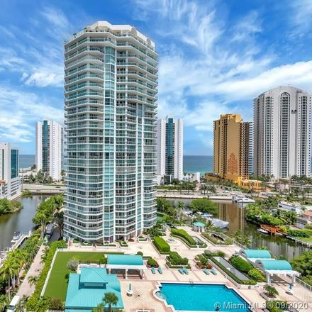Rent this 2 bed condo on 16500 Collins Avenue in Sunny Isles Beach, FL 33160