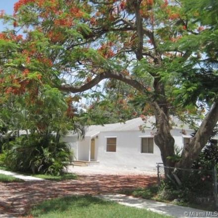 Rent this 3 bed house on 5855 Southwest 62nd Street in South Miami, FL 33143