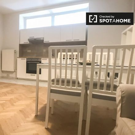 Rent this 1 bed apartment on Photo MG Maggioni in Avenue d'Auderghem - Oudergemlaan 186, 1040 Etterbeek