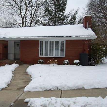 Rent this 3 bed house on 151 Gordon Street in Edgewood, PA 15218