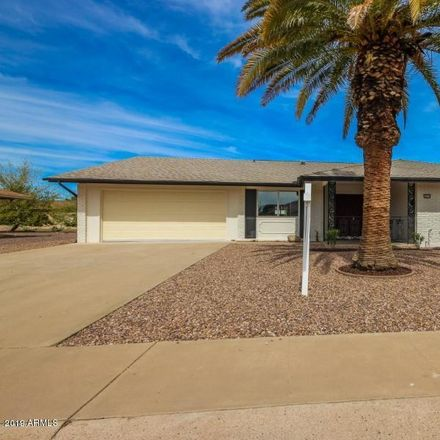 Rent this 2 bed house on 10510 West Bayside Road in Sun City, AZ 85351