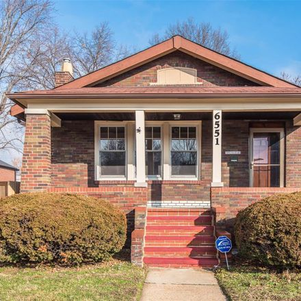 Rent this 3 bed house on 6551 Smiley Avenue in Saint Louis, MO 63139