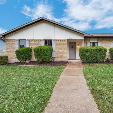 Rent this 4 bed house on 1900 White Rose Lane in Carrollton, TX 75007