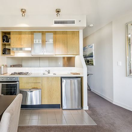 Rent this 1 bed apartment on 1409/77 Berry Street