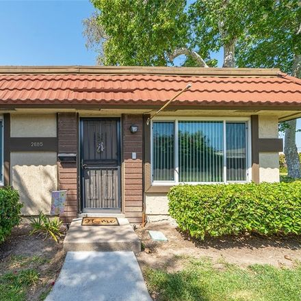 Rent this 3 bed townhouse on 2685 West Parkside Lane in Anaheim, CA 92801