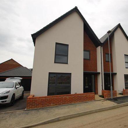 Rent this 3 bed house on Harris Way in Milton Keynes MK17 8YQ, United Kingdom