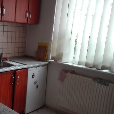 Rent this 1 bed apartment on Artura Młodnickiego 50 in 50-305 Wroclaw, Poland