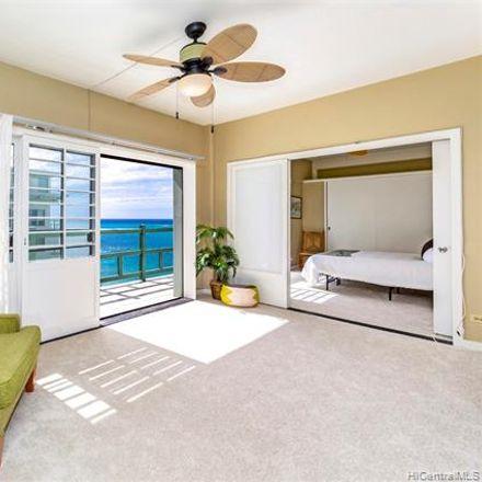 Rent this 2 bed condo on 2957 Kalakaua Avenue in Honolulu, HI 96815