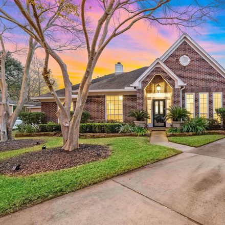 Rent this 4 bed house on 17107 Coral Cove Ct in Houston, TX