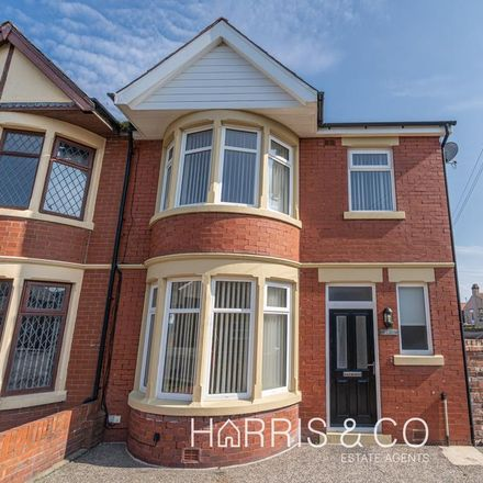 Rent this 3 bed house on Fleetwood Conservatives Club in Lowther Road, Wyre FY7 7AS