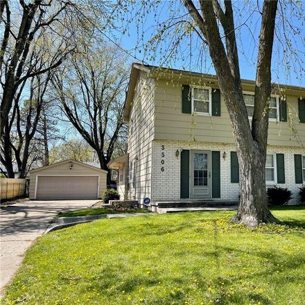 Rent this 4 bed house on 3506 48th Place in Des Moines, IA 50310