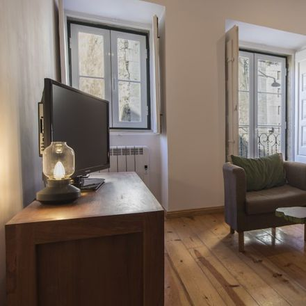 Rent this 1 bed apartment on Rua dos Lagares in 1100-496 SOCORRO Lisbon, Portugal