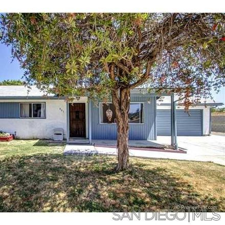 Rent this 3 bed house on 883 Terrace Crest in El Cajon, CA 92019