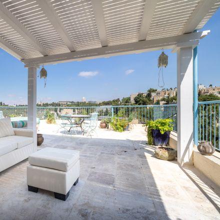 Rent this 3 bed apartment on HaRav Herzog 15 in Jerusalem, Israel