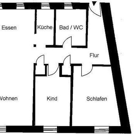Rent this 3 bed apartment on Grüne Straße 1 in 01917 Kamenz - Kamjenc, Germany