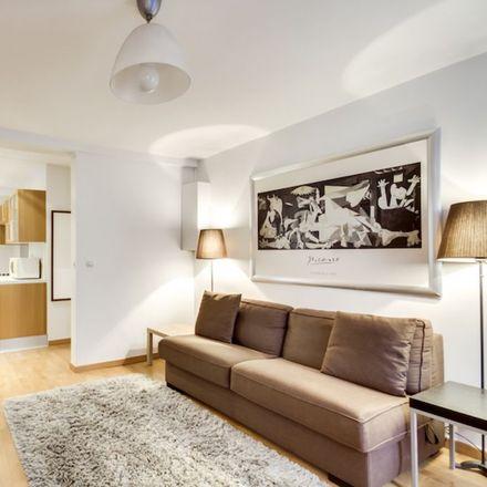 Rent this 1 bed apartment on 18 Rue Ferdinand Duval in 75004 Paris, France