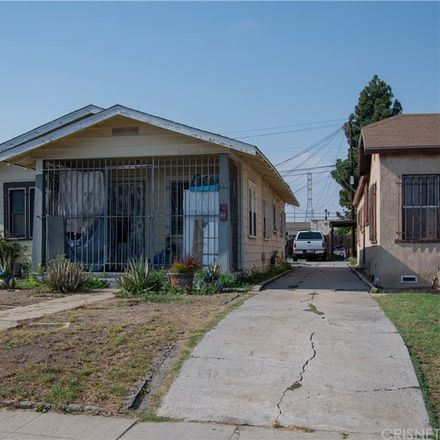Rent this 3 bed house on 419 West 101st Street in Los Angeles, CA 90003