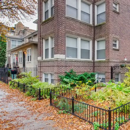 Rent this 2 bed condo on 3351-3355 West Wilson Avenue in Chicago, IL 60625