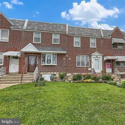 Rent this 3 bed townhouse on 1967 Lardner Street in Philadelphia, PA 19149