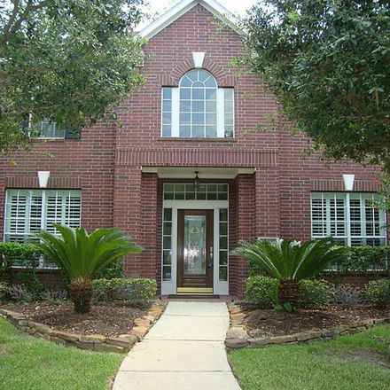 Rent this 4 bed house on 12407 Calico Falls Lane in Harris County, TX 77041