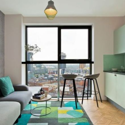 Rent this 1 bed apartment on The Light Boutique ApartHotel in 20 Church Street, Manchester M4 1PN