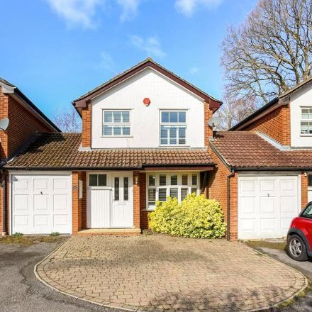 Rent this 3 bed house on Oliver Road in South Ascot SL5 9DH, United Kingdom